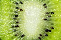 This picture is a kiwifruit background Stock Photos
