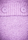 Background with Knitted lilac sweater Stock Photo