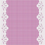 Background with lace border Stock Images