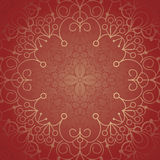 Background with lace ornament. And space for your text. Template frame design for card Royalty Free Stock Image