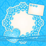 Background with lace ornaments. Royalty Free Stock Images