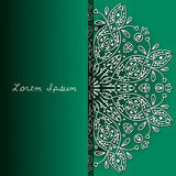 Background with lace ornaments Royalty Free Stock Photography