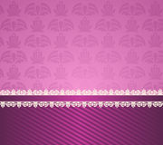 Background with lace ornaments Royalty Free Stock Photo