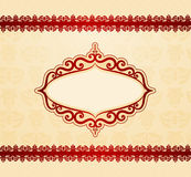 Background with lace ornaments Stock Photos