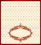 Background with lace ornaments Stock Images
