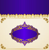Background with lace ornaments Stock Photography