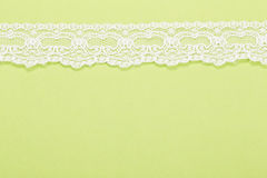 Background with lacy border Stock Photo