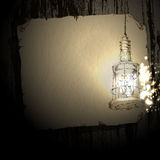 Background with lamp Royalty Free Stock Photos