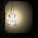 Background with lamp Stock Images
