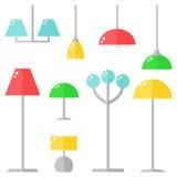 background lamps white Στοκ φωτογραφίες με δικαίωμα ελεύθερης χρήσης