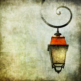 Background with lantern Royalty Free Stock Photos