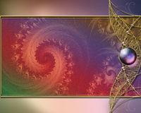 Background layout design. Fractal rendered and photoshop post-processed background layout design Royalty Free Stock Photo