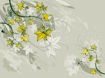 Background,leafs, vector Stock Photos