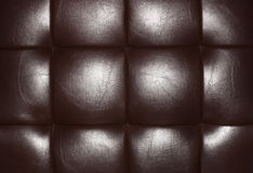 Background leather brown Royalty Free Stock Image