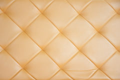 Background : Leather sofa Royalty Free Stock Photography