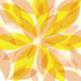 Background from leaves stock illustration