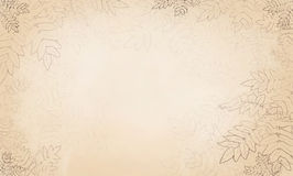 Background with leaves. Summer illustration Royalty Free Stock Photos