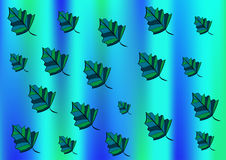 Background from leaves royalty free illustration