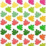 Background of leaves. vector design nature colored leaves. Background of leaves. vector design nature colored Stock Photography