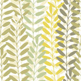 Background with leaves. Vector texture with hand drawn leaves and plants. Vector pattern. Stylised flat different kind. Background of leaves. Vector pattern Royalty Free Stock Photo