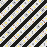 Background of LED tapes. Royalty Free Stock Photography