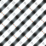 Background of LED tapes. Stock Images