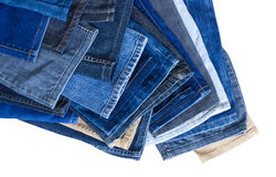 Background leg jeans overlap. Stock Images