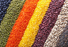 Background with legumes Royalty Free Stock Photography