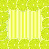 Background with lemon Royalty Free Stock Photography