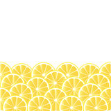 Vector background with lemon Royalty Free Stock Photo