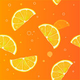 Background of lemon slices Stock Photography