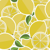Background from lemons. Stock Photo