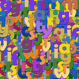 The background of the letters. Colorful background of the letters Stock Photos