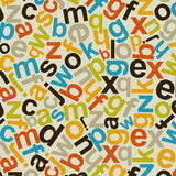 Alphabetic background2 Royalty Free Stock Images