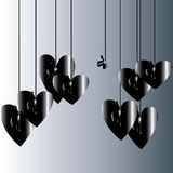 Background.  Life without love. Royalty Free Stock Image