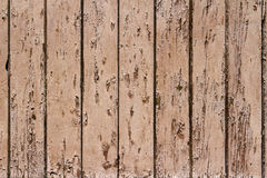 Background of light brown boards Royalty Free Stock Images