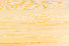 Background of the light-colored pine planks Stock Photography