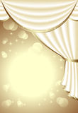 Background with light drapes Royalty Free Stock Image