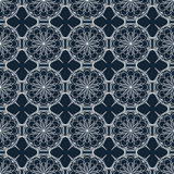 Background with light lace pattern on a dark blue. Royalty Free Stock Photos