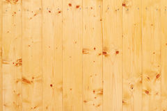 Background of light wooden wall in yellow color Stock Image