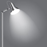Background with lighting lamp. Stock Image