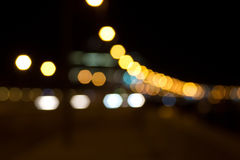 The background of lights Royalty Free Stock Photography