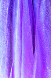 Background from lilac delicate fabric Royalty Free Stock Image