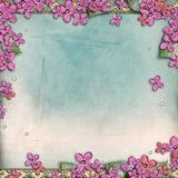Background  with  lilac Royalty Free Stock Photos