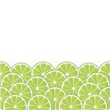 Background with lime Royalty Free Stock Photo