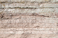 Background of a limestone cliff detail. Background of a red limestone cliff detail Stock Image