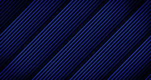 Background Line Animation Fading Away in Blue Tones on Black from 4k Animation Frame. Background Line Animation Fading Away in several Blue Tones on Black from Royalty Free Stock Image