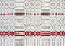 Background linen fabric with a pattern of weaving Stock Photos
