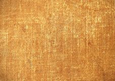 Background. Linen old shabby background. Cover of an old book Royalty Free Stock Image
