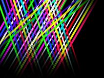 Background with lines and light, illustration Royalty Free Stock Image